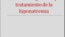 Tratamiento de la Hiponatremia